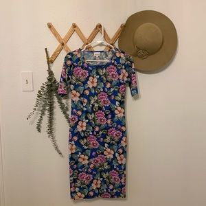 Lularoe floral Julia dress